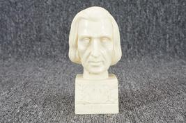 "Classic Figure ""Liszt"" Head Sculpture 5 1/8"" By... - $10.00"