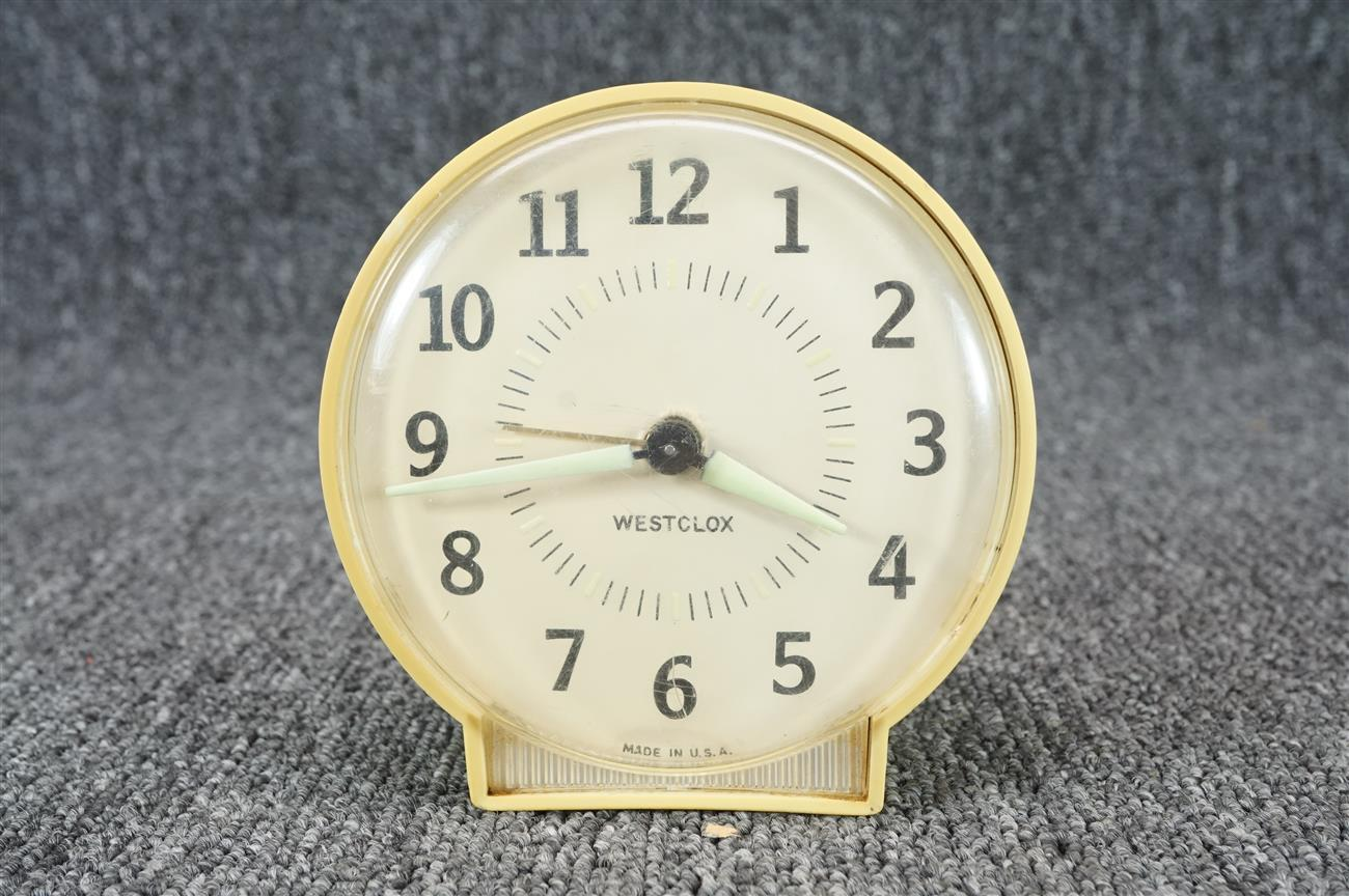 Vintage Westclox Wind-Up Alarm Clock 4 1/4