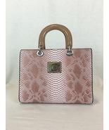 Pink Snake Skin Purse - $44.01