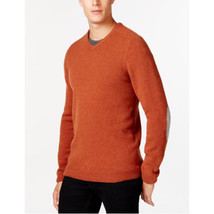 Tasso Elba V-Neck Sweater Rust Neps X-Large - $715,54 MXN