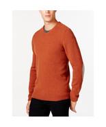 Tasso Elba V-Neck Sweater Rust Neps X-Large - $38.01