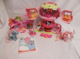 My Little Pony Pinkie Pies Ponyville Balloon House + Pony Supermarket St... - $32.32