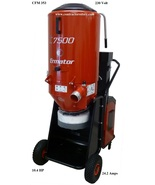 Ermator T7500 Dust Extractor  HEPA Commercial 3 Phase - 230V - $11,100.00