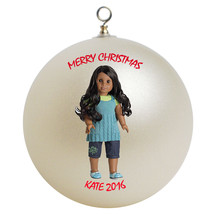 Personalized American Girl Sonali Christmas Ornament Gift - $24.95