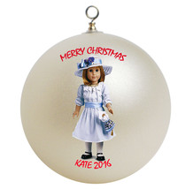 Personalized American Girl Nellie Christmas Ornament Gift - $16.95