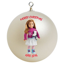 Personalized American Girl Mia Christmas Ornament Gift - $16.95