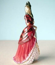 Royal Doulton Mantilla Mini Figurine 100 Years of HN Icons HN5653 Ltd Ed... - $86.90