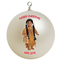Personalized American Girl Kaya Christmas Ornament Gift - $16.95