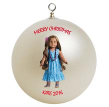 Personalized American Girl Kanani Christmas Ornament Gift - $16.95
