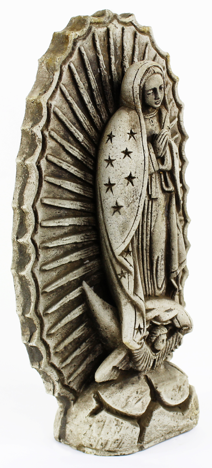 Lady of Guadalupe Concrete Statue