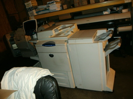 used Xerox 7665 Copier Commercial printer duplicator Industrial finisher... - $1,995.95