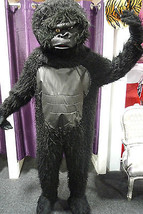 Deluxe Gorilla Mascot Costume with Leather Chest  - $112.23