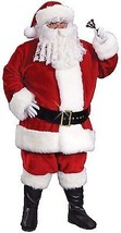 XXL Deluxe Father Christmas Costume + Wig + Beard  - $224.46
