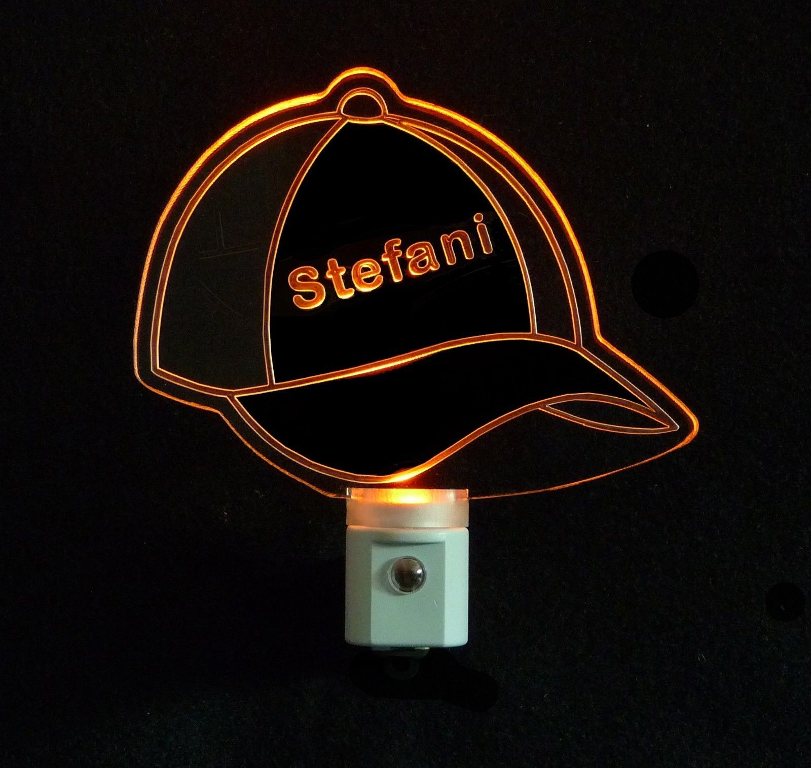 Personalizd Baseball Cap LED Night Light and similar items