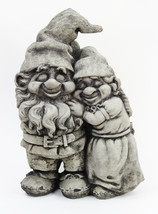 Love Gnomes Concrete Statue  - $74.00