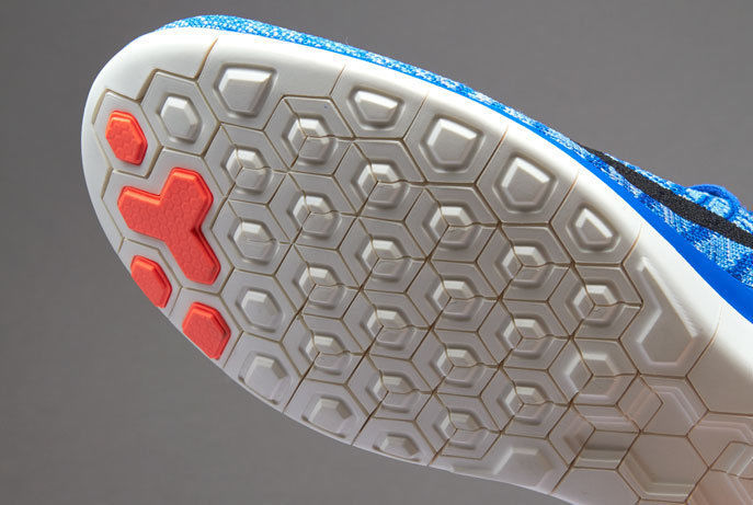 Nike Free Flyknit 4.0 Size 10 M (b) Eu 42 Women's Runni