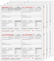 IRS Approved Condensed 4up W-2, 8-part Set - $26.50+