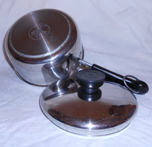 Revere Tri-Ply Disc Stainless Steel 1 Quart Saucepan and Lid, #rw153 - $26.95