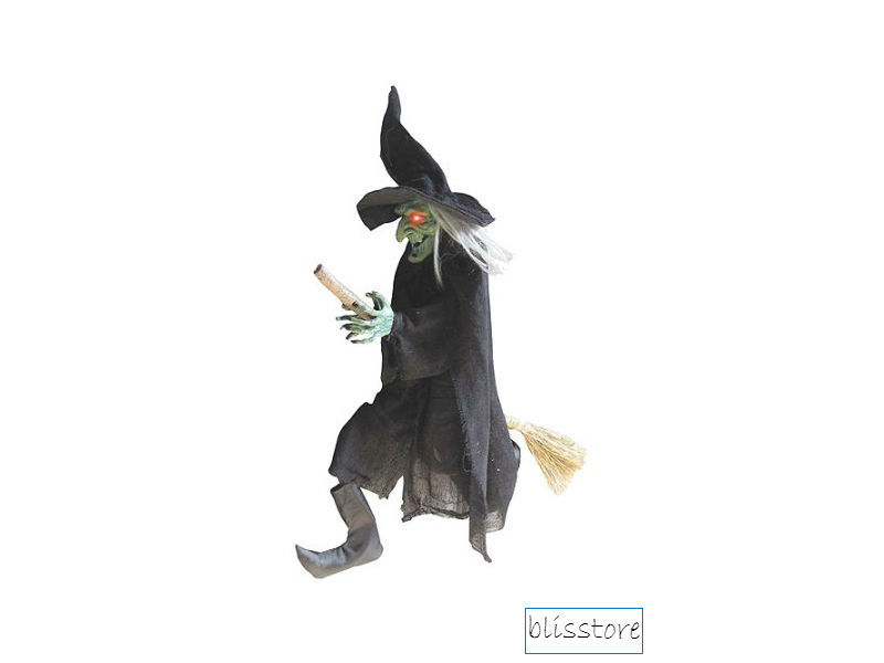 Halloween Decoration Party Decor Spooky Flying Witch Holiday Night 42""