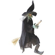 "Halloween Decoration Party Decor Spooky Flying Witch Holiday Night 42"" - $44.82"