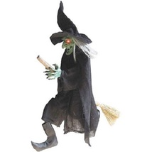 Halloween flying witch party decoration holiday night spooky decor 42 sound gift thumb200