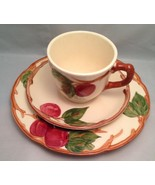 Franciscan Ware Apple Pattern Cup - Saucer - Bread Plate - $14.69