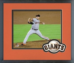 Matt Moore 2016 San Francisco Giants The Delivery - 11x14 Matted/Framed Photo - $42.95