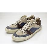 Bagatt 10.5 Medium Blue Brown Sneakers Mens Shoes Italy - $48.00