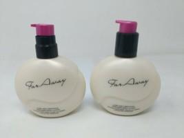 Avon FAR AWAY Lush and Liberating Perfumed Body Lotion 6.7oz Lot of 2 VT... - $29.69