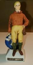 Vintage Mccormick Whiskey Pilot Charles Lindbergh Miniature Decanter - $23.71