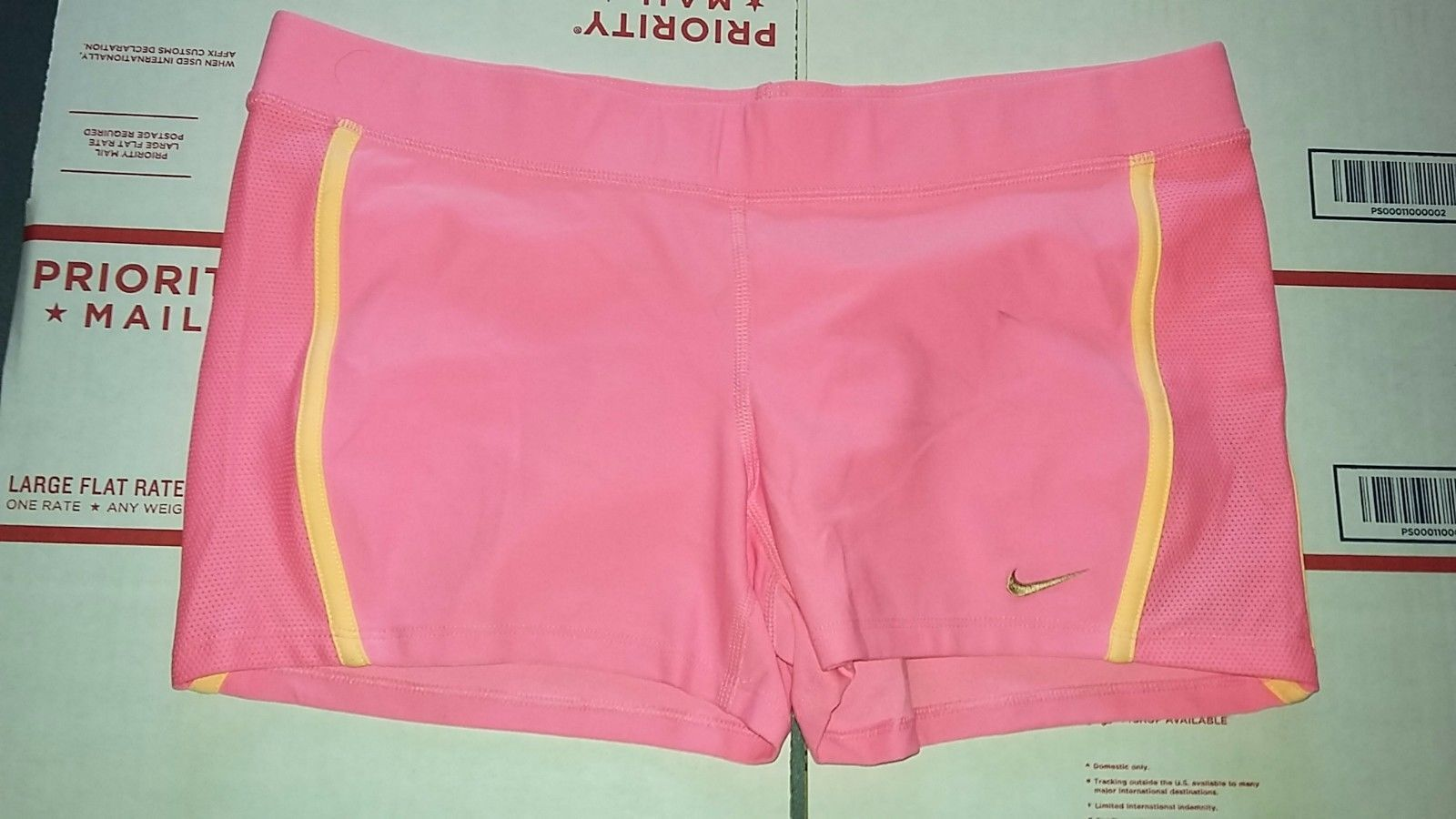 Primary image for Nike TEMPO Women's Running Shorts Sz XL TEMPO BOY LIGHT PINK Design