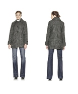 ELLEN TRACY Tweed Button Down Coat Size 2 NWT $380 - $115.83