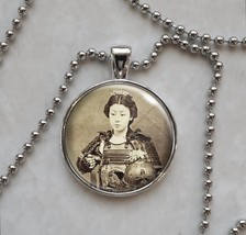 Onna-bugeisha Vintage Female Woman Warrior Samurai Pendant Necklace - $14.85+