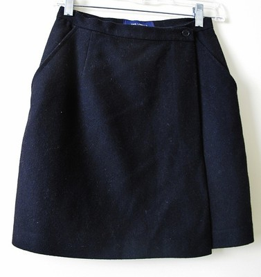 The Limited Black Wool Blend Skirt Size 2