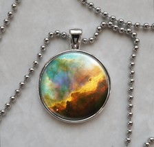 Omega Nebula Astronomy Space Science Pendant Necklace - £9.88 GBP+
