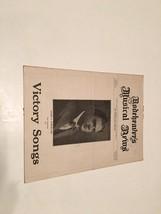 Victory Songs Sheet Music [Sheet Music] [Jan 01, 1925] Homer A Rodeheaver - $29.09