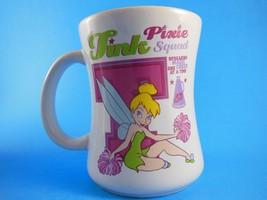 Tinkerbell Tink  Pixie Squad Cheerleader Ceramic Mug Cup 12oz Disney Store - $6.23