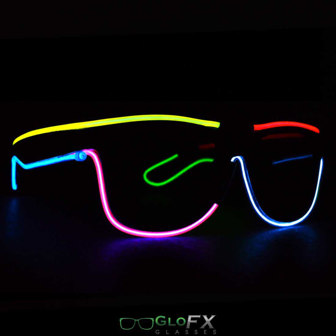 EL Wire Glasses Neon Fashion USA best high and 50 similar items