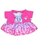 Build a Bear Hello Kitty Pink Jacket Bow Dress ... - $58.95