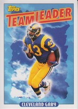 Cleveland Gary 1993 Topps Team Leader Card #176 - $0.99