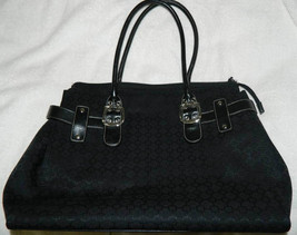 Nine West Black Shoulder Hand Bag Depth 13, Height 13 Length 15 - $19.79