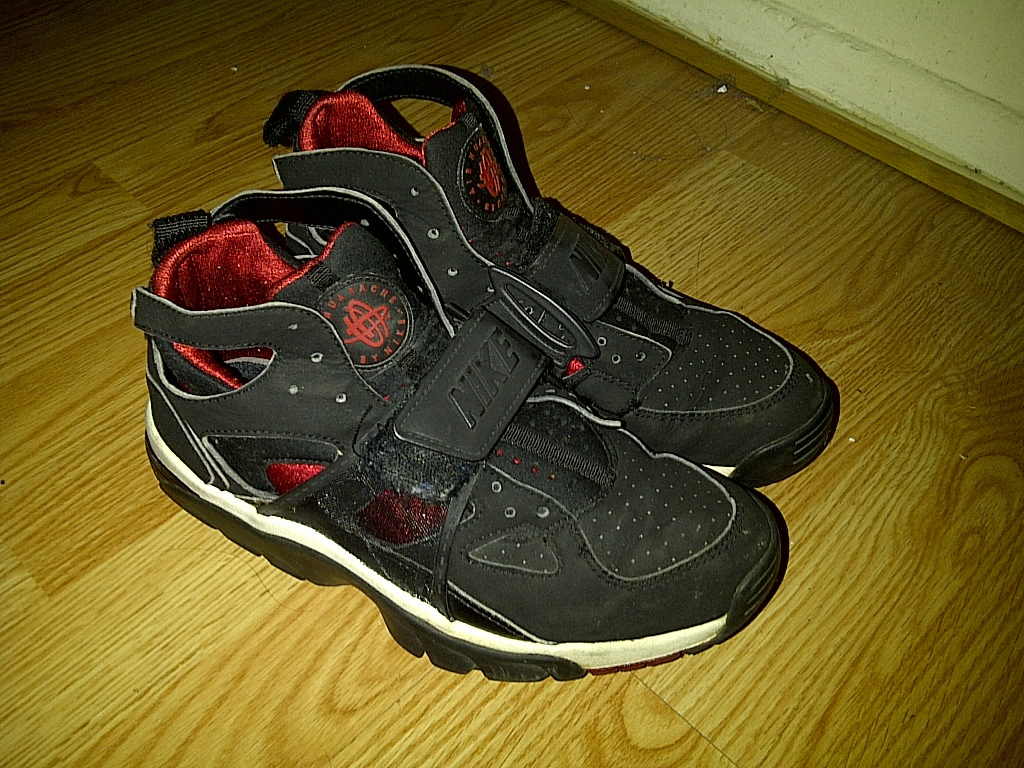watch a87de 48343 Nike Air Trainer Huarache Shoes Sneakers, and 42 similar items. 2