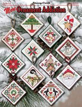 More Ornament Addiction BK456 christmas cross stitch chart Stoney Creek - $9.90