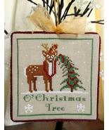 O' Christmas Tree Holmsey Fergus cross stitch Stitchers Anon Designs - $7.50