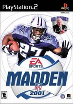 Madden NFL 2001 Video Game For PlayStation 2 - $4.42