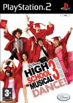 High School Musical 3: Senior Year DANCE! Video Game for PlayStation 2 - $4.42
