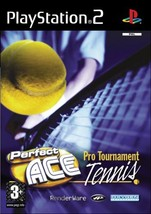 Perfect Ace Pro Tournament Tennis Video Game For PlayStation 2 - $3.99
