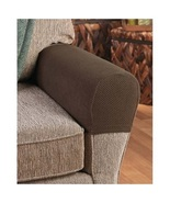 Armrest Covers Stretchy 2 Piece Set Chair or Sofa Arm Protectors Stretch... - $12.99+