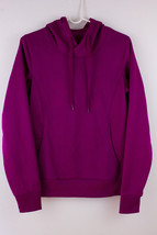 UNDER ARMOUR Cold Gear Hoodie Semi-Fitted Sweatshirt Women's Small Fuschia  - $29.39