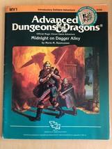 Midnight on Dagger Alley MV-1 Advanced Dungeons & Dragons D&D TSR - $40.10